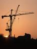 Construction Crane --- Image by © Image Source/Corbis